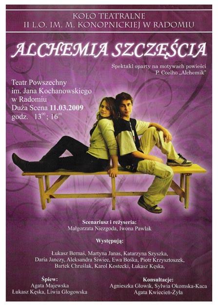 Plakat 'Alchemia Szczęścia'