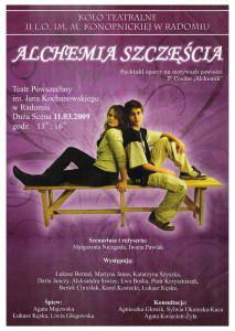 Alchemia Szczęścia 2009